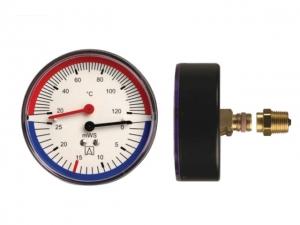 Термоманометр Afriso TM 80 (аксиальный)