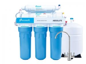Фильтр Ecosoft ABSOLUTE RO-6-50 M (обратный осмос) с минерализатором