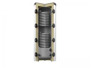 Бак аккумулирующий Reflex HF 500/2 + 2 змеевика, серый (с изоляцией)
